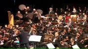 بخشی از اجرای کنسرت موسیقی روز واقعه توسط استاد انتظامی