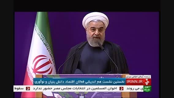 دکتر روحانی : هر جا با احساس و شعار جلو رفتیم ، موفق