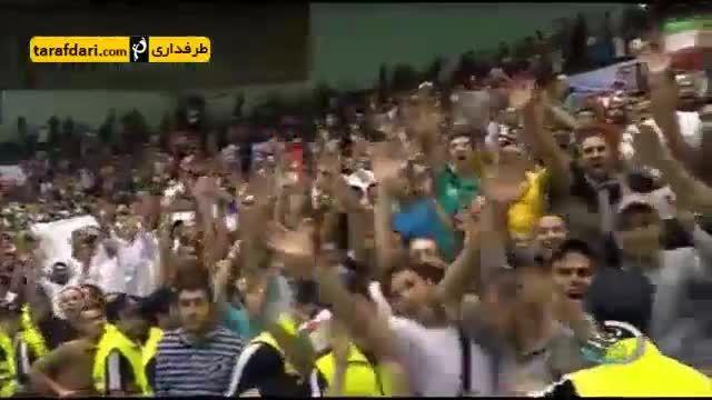 گزارشی از پیروزی 3 - 0 ایران مقابل روسیه