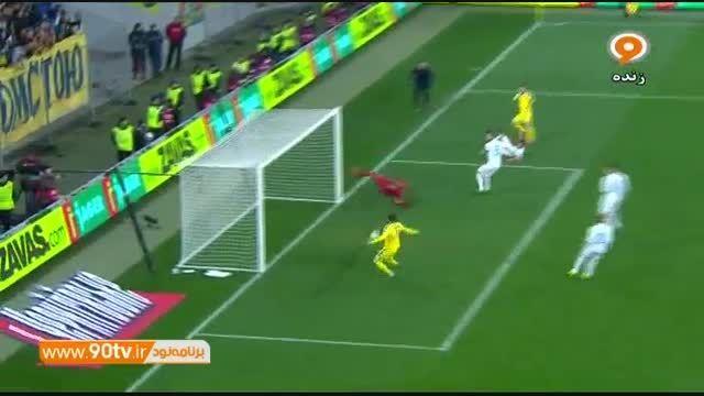خلاصه پلی آف یورو ۲۰۱۶: اوکراین ۲-۰ اسلوونی