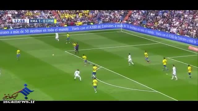 خلاصه بازی : رئال مادرید 3 - 1 لاس پالماس
