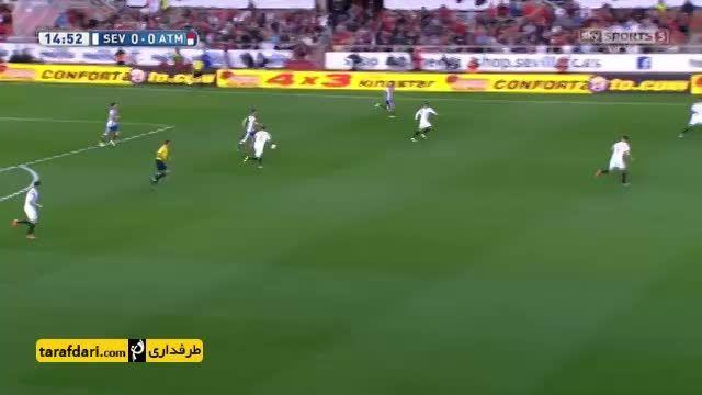 خلاصه بازی سویا 0 - 0 اتلتیکو مادرید