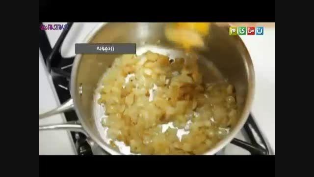 طرز تهیه عدسی_آموزش آشپزی+فیلم ویدیو کلیپ پختن طبخ