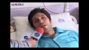 علی نادی کاپیتان تیم والیبال خود را به تیغ جراحی سپرد.