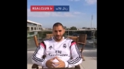 تبریک عید قربان توسط کریم بنزما