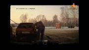 اقدام عجیب راننده در پمپ بنزین