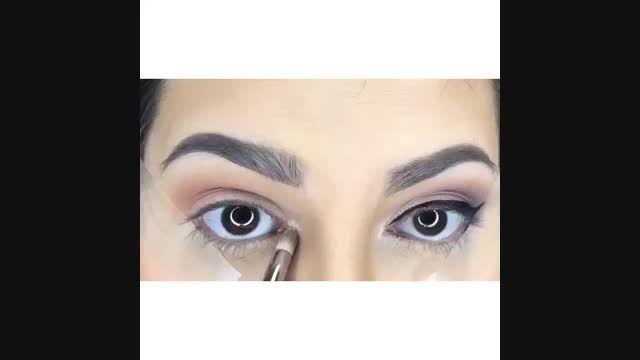 آموزش جدیدترین مدل آرایش چشم