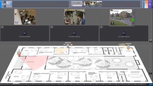 استفاده از پلان نقشه درنرم افزار اکسون نکست چشم سوم.کام