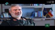 ایران آمریکا را در خلیج فارس اسکورت می کند