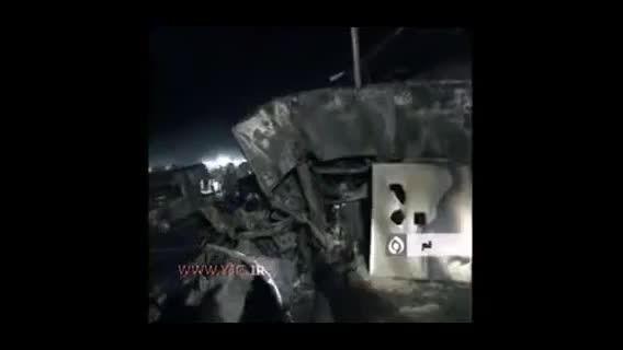 تصادف مرگبار دو اتوبوس در قم دستکم 43 کشته و ...