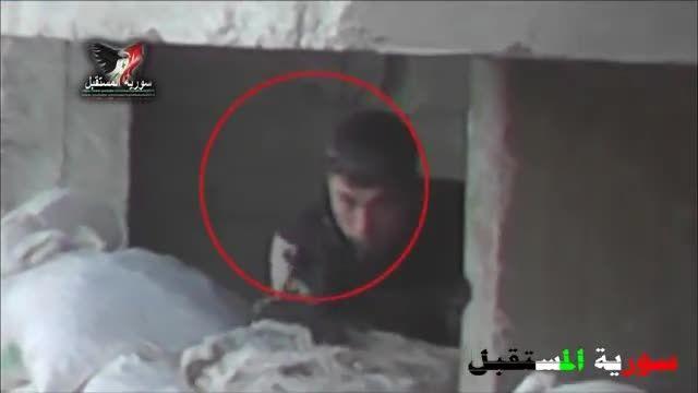 شــکار تک تیرانداز تروریسـت توسط تک تیرانداز سوری