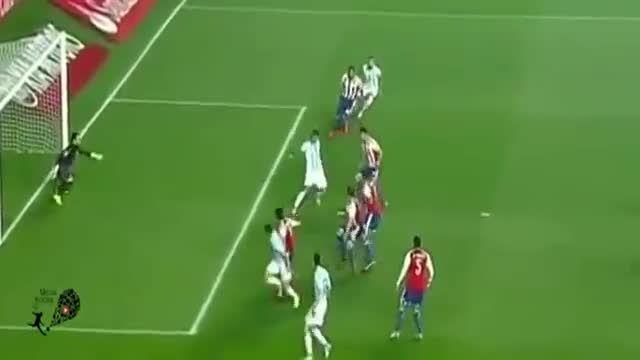 خلاصه کامل بازی : آرژانتین 6 - 1 پاراگوئه (کوپا آمریکا)