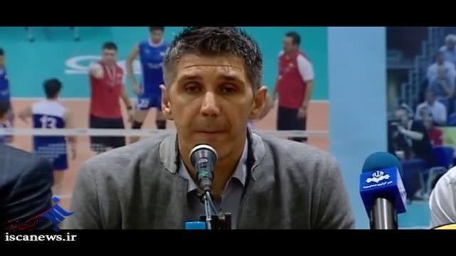 کنفرانس خبری کواچ سرمربی تیم ملی والیبال
