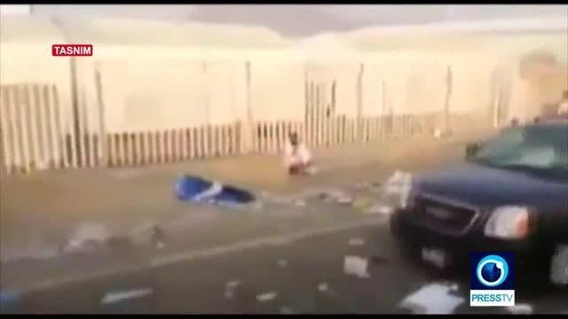 کاروان پسر پادشاه عربستان، علت حادثه منا+فیلم