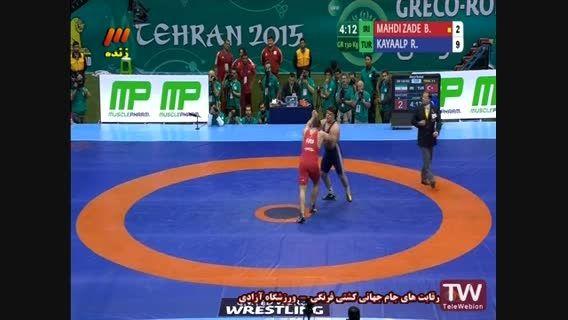 مسابقه رده بندی جام جهانی کشتی فرنگی. ایران - ترکیه