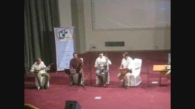 استادمحمدصدیه نوازنده تنبک،در همایش مثنوی معنوی مولانا