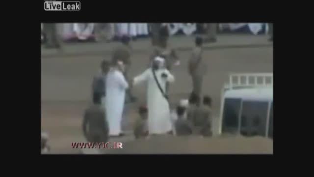 مراسم گردن زنی در عربستان