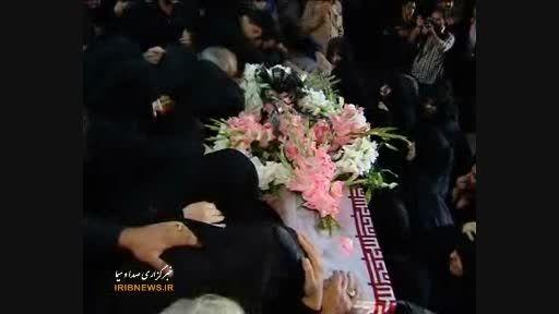 گزارش خبری از ورود پیکر پاک سردار شهید همدانی به تهران