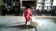 لوسی کوچولو همبازی دخترم باران