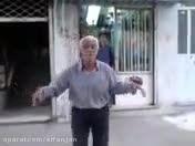 رقص پیرمرد!خخخخخ