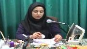 آموزش تصویری گل سازی فارسی