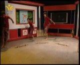 اجرای زنده ورزش زورخانه ای در شبکه تابان یزد توسط زورخانه امام علی (ع) رضوانشهر صدوق
