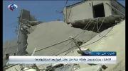 نجات یک جنین از زیر آوار در غزه