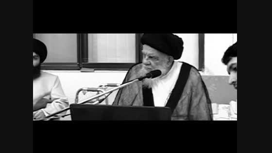 مرحوم حضرت آیت الله العظمی حسینی زنجانی (قدس سره)