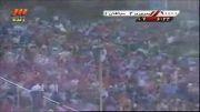 گل دوم پرسپولیس در مقابل سپاهان و قهرمانی