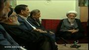 دیدار معاون اول رئیس جمهور با آیت الله ناصری