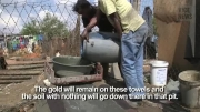 معادن غیر قانونی طلا در آفریقای جنوبی