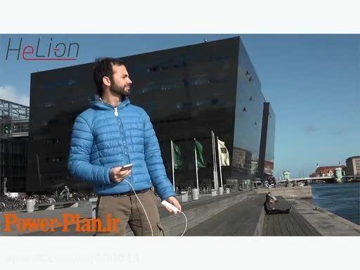 شارژر خورشیدی موبایل  هلی آن  helion