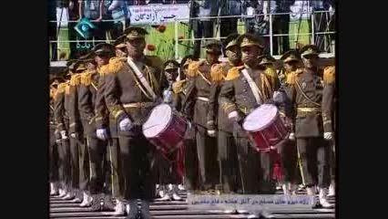 رژه نیروهای مسلح در 31 شهریور 94- 1