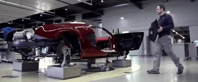 روند ساخت شگفت انگیزترین خودروی جهان: بوگاتی ویرون گرند