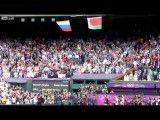 سقوط پرچم امریکا هنگام اهدای مدال المپیک
