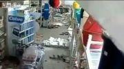 لحظه وقوع زلزله 7.8 ریشتری چند روز پیش در پاکستان