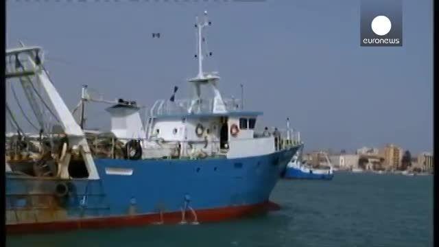 نجات جان یازده هزار پناهجو توسط گارد ساحلی ایتالیا