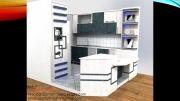 طراحی کابینت آشپزخانه و کمد دیواری آذرطرح
