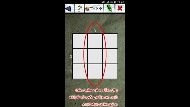 جدول نقطه ای