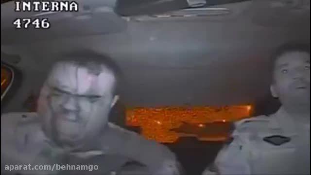 جنایت فجیع علیه پلیس در خیابان...!