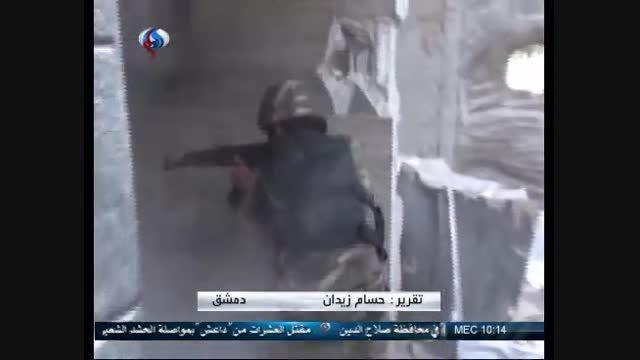 پیشروی های موفق ارتش سوریه در حومه قنیطره