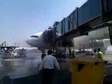 وقتی که هواپیما روی زمین دچار حریق در کابین مسافران بشه!