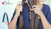 ▶بافت موی 3تایی.ناز.برای موهای ناز!!!