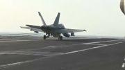 مانور جنگنده های هوایی آمریکا درخلیج فارس...