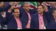 رژه کاروان ایران در افتتاحییه بازیهایی اسیایی 2014