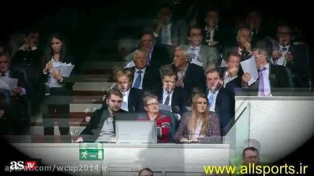 حضور مدیر برنامه های لواندوفسکی در ورزشگاه رئال مادرید