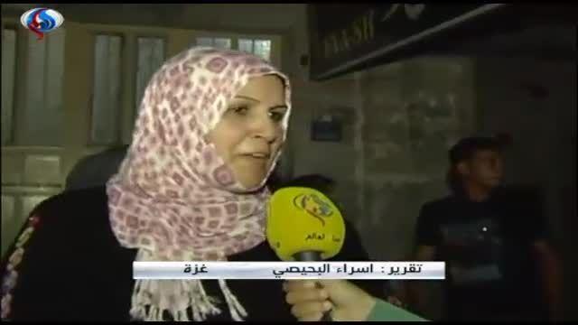 شادمانی مردم غزه در جشن پیروزی مقاومت