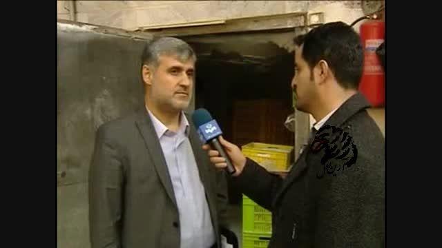 کشف محموله غیر بهداشتی از گوشت مرغ در تهران که منقضی شد