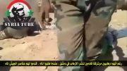 سوریه - ((18+)) کشته ها و اسارت 10 ها تروریست القاعده در نزدیکی دمشق