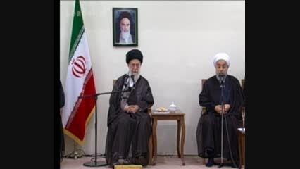 رییس جمهور در دیدار با رهبر معظم انقلاب اسلامی